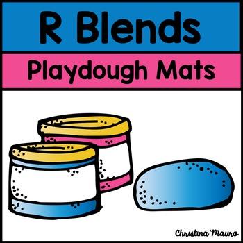 Playdough Mats - R Blends