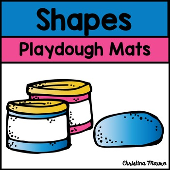 Playdough Mats - Shapes