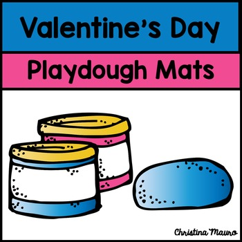 Playdough Mats - Valentine's Day