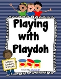 Playdoh Mats for ABCs, Numbers 1-10, and shapes