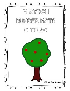 Playdoh Number Mats 0-10
