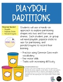 Playdoh Partitioning (Fractions)