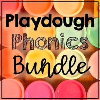 Playdoh Phonics GROWING Bundle