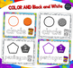 Playdoh SHAPES Mats with Custom Clay Font