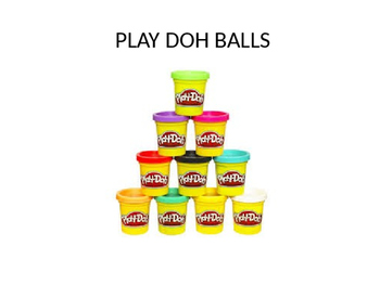 Playdoh Stress Balls