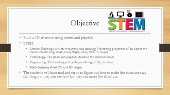 Playdoh Structure STEM Activity