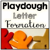 Playdoh Uppercase & Lowercase Match