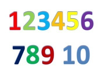 Playdough Mats - ABC and Numbers