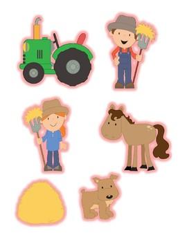Playdough Accessories - Farm Set