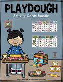 Playdough Activity Cards BUNDLE   Distance Learning