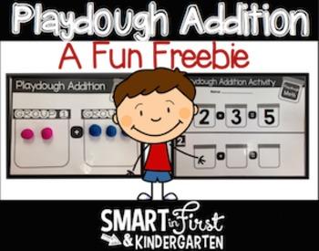 Playdough Addition Freebie