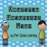 Playdough Alphabet Mats