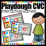 Playdough CVC - PowerPoint Games Bundle