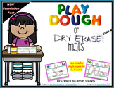 Phonics Playdough-Dry Erase Mats -NSW FOUNDATION  FONT