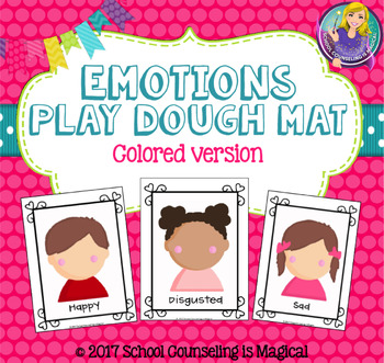 Playdough Emotions (colored version)