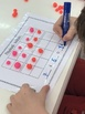 Playdough Frames Addition and Subtraction to 10/20 with worksheet