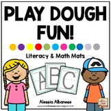 Playdough Fun! (Literacy and Math Center Activities)