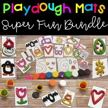 Playdough Mats Super Fun Bundle