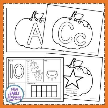Play Dough Fun with Pumpkins!