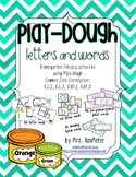 Play-dough Letters and Words