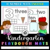 Playdough Mat - Numbers 1-10