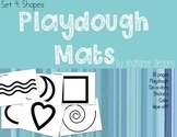 Playdough Mat Shapes, for use with Play-doh