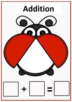 Playdough Math Mats