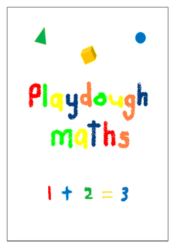 Playdough Maths (US Kindergarten)