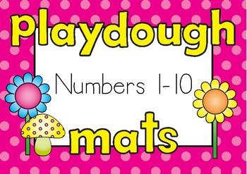 Playdough Mats 1-10