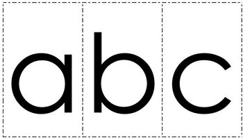 Playdough Mats 1-20 and Alphabet