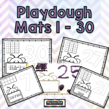 Playdough Mats 1-30