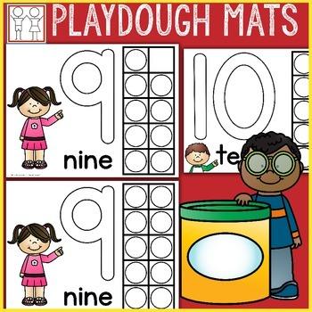 Playdough Mats