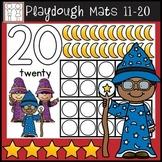 Playdough Mats Numbers 11-20