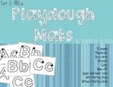 Playdough Mats A-Z upper-case and lower-case