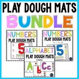 Alphabet  Playdough Mats and Numbers Playdough Mats Bundle