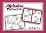 Playdough Mats - Alphabet with lines
