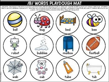 Playdough Mats {Articulation Skills}