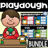 Playdough Mats BUNDLE (Letters, Numbers, Sight Words, CVC, CVCe)