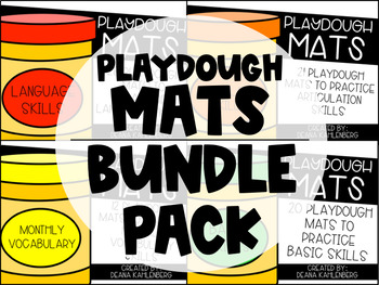 Playdough Mats {BUNDLE PACK}
