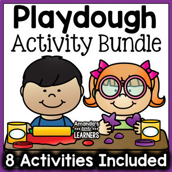 Playdough Mats - Bundle Set (Common Core Aligned)