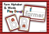 Playdough Mats - Farm Alphabet and Words