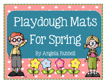 Playdough Mats For Spring