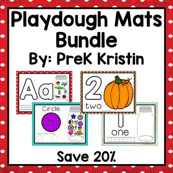 Playdough Mats Bundle Set