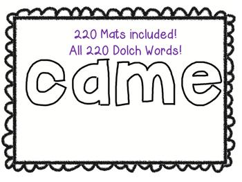 Playdough Mats ~MEGA BUNDLE! 267 Pages