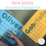 Playdough Mats - Name, Picture and Tens Frame!