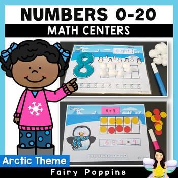 Arctic Math Mats - Numbers, Ten Frames, Number Lines