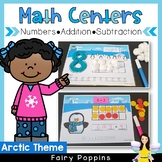 Arctic Math Centers (0 to 20, Addition, Subtraction)