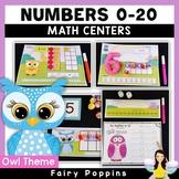 Owl Math Mats - Numbers, Ten Frames, Number Lines