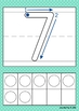 Play Dough Mats Numbers (0-20) with Ten Frames
