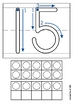 Playdough Mats - Numbers (0-20) with Ten Frames Zaner Bloser
